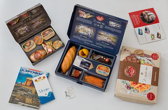 Упаковка еды на фабрике-кухне PINHAS